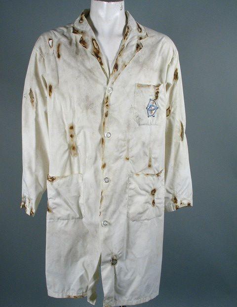 Burnt Lab Coat