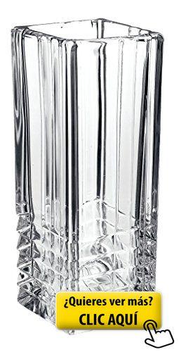 Bormioli Rocco - Florero de vidrio transparente,... #jarron