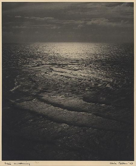 Olive Cotton, Sea's Awakening, 1930s