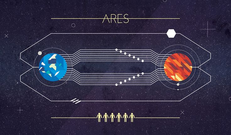 The Ares Program Illustration inspired by the only novelI've read and reread and enjoyed every time. The Martian by Andy Weir