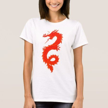 Orange Dragons for Christine T-Shirt - tap to personalize and get yours