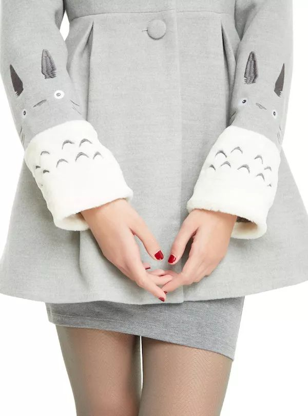 This Studio Ghibli Totoro Coat Is The Cutest
