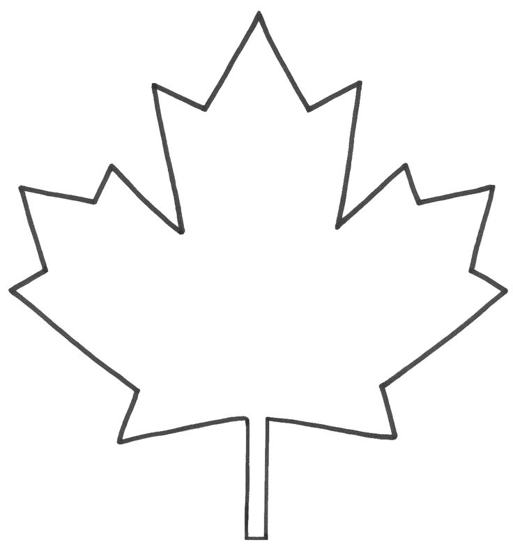The 25 Best Maple Leaf Template Ideas On Pinterest