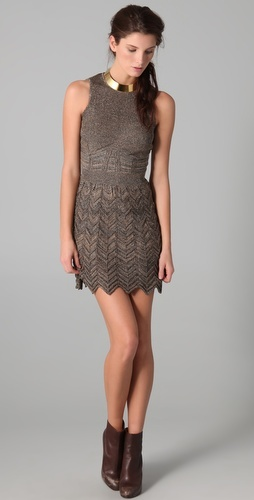 Missoni Space Dye Chevron Knit Dress