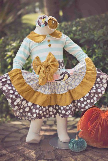 Tea and Crumpets Twirl Dress Preorder 12 Months to 6 Years