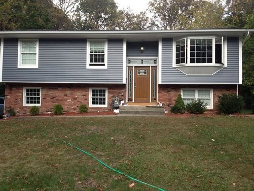 7 Popular Siding Materials To Consider: 54 Best Blue Houses Images On Pinterest