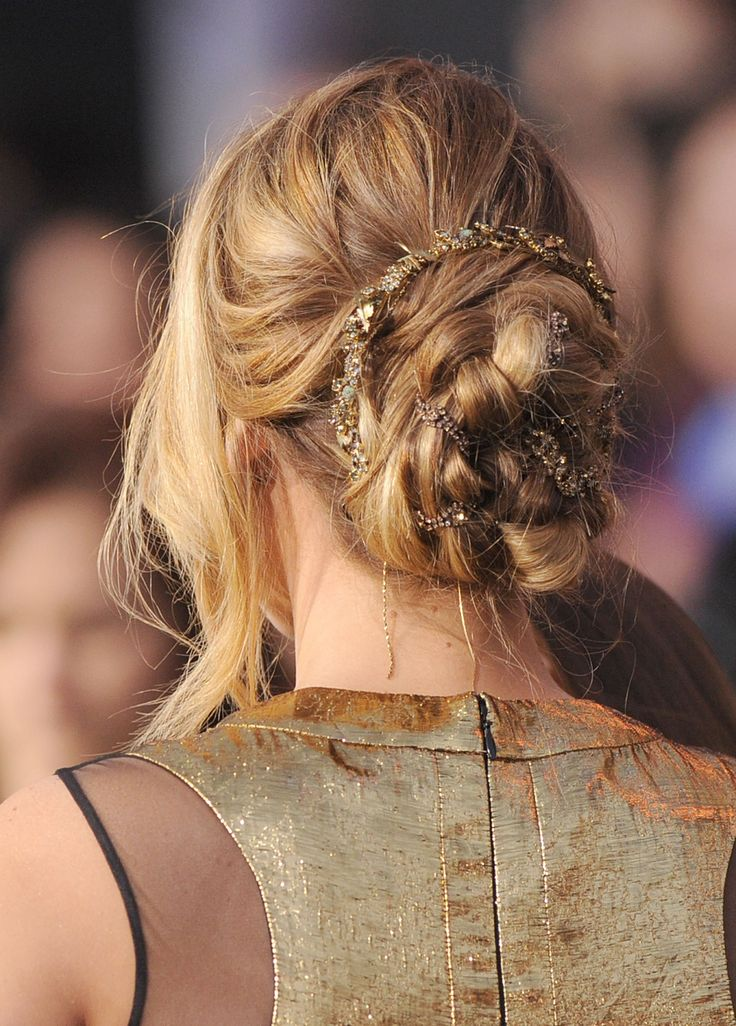 Jennifer Lawrence's braided chignon is all the hair inspo you'll ever need