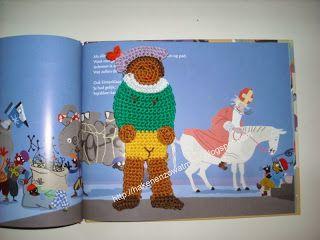 Gratis patronen,tinekeshaakpatronen: Boekenlegger zwarte Piet