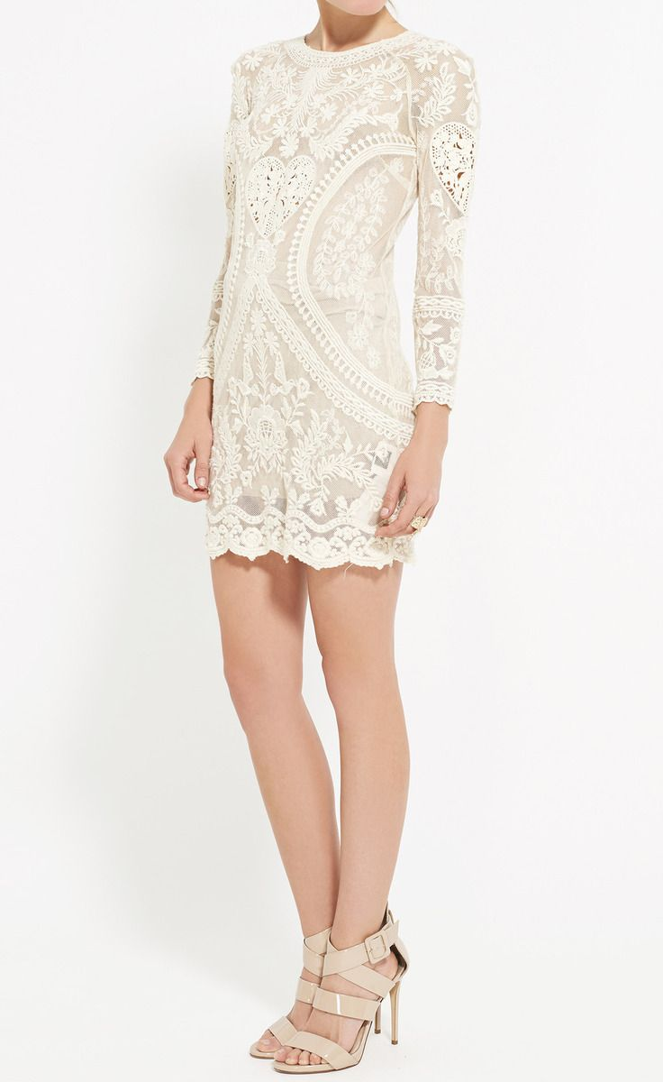after party dress! Isabel Marant Ivory Dress | VAUNTE
