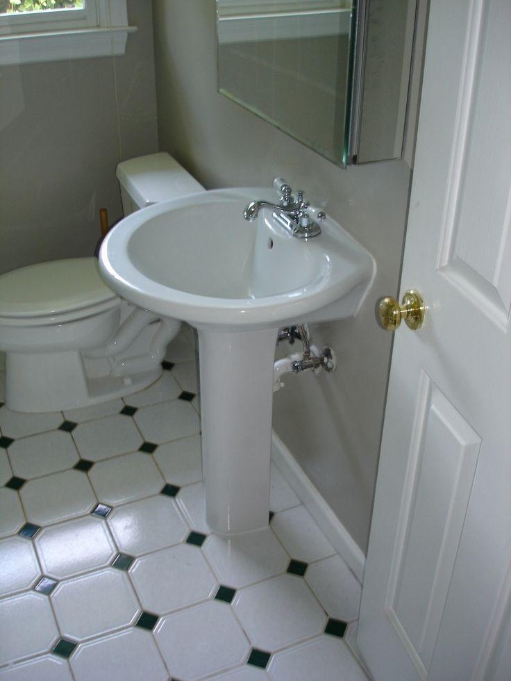 8 best pedestal bathroom sink images on pinterest for Bathroom sink renovation
