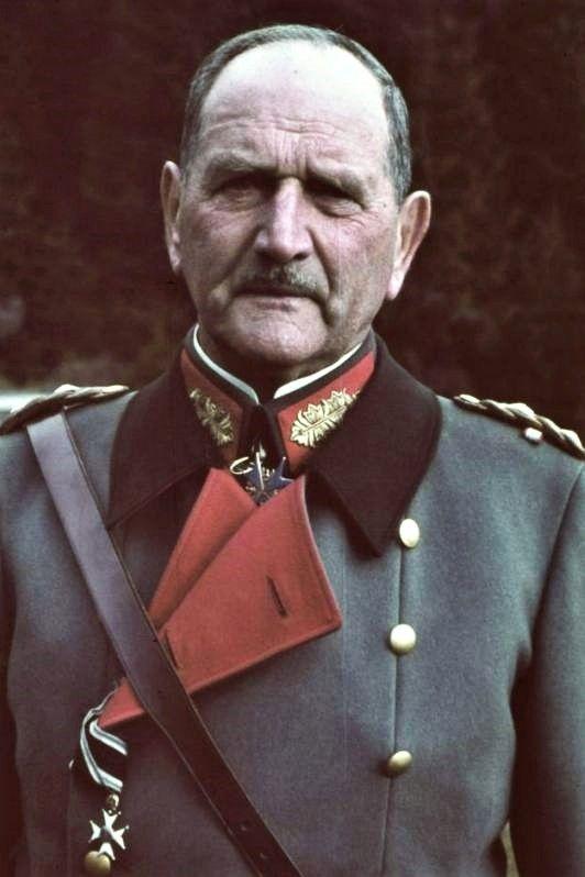 Franz Ritter von Epp (1868-1946), Char. General der Infanterie (SA- und NSKK-Obergruppenführer), Reichleiter der NSDAP, zugleich Reichsstatthalter in Bayern, Ritterkreuz des KVK mit Schwertern 20.09.1943