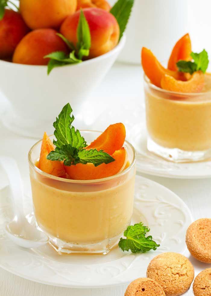 Crema di albicocche alla vaniglia