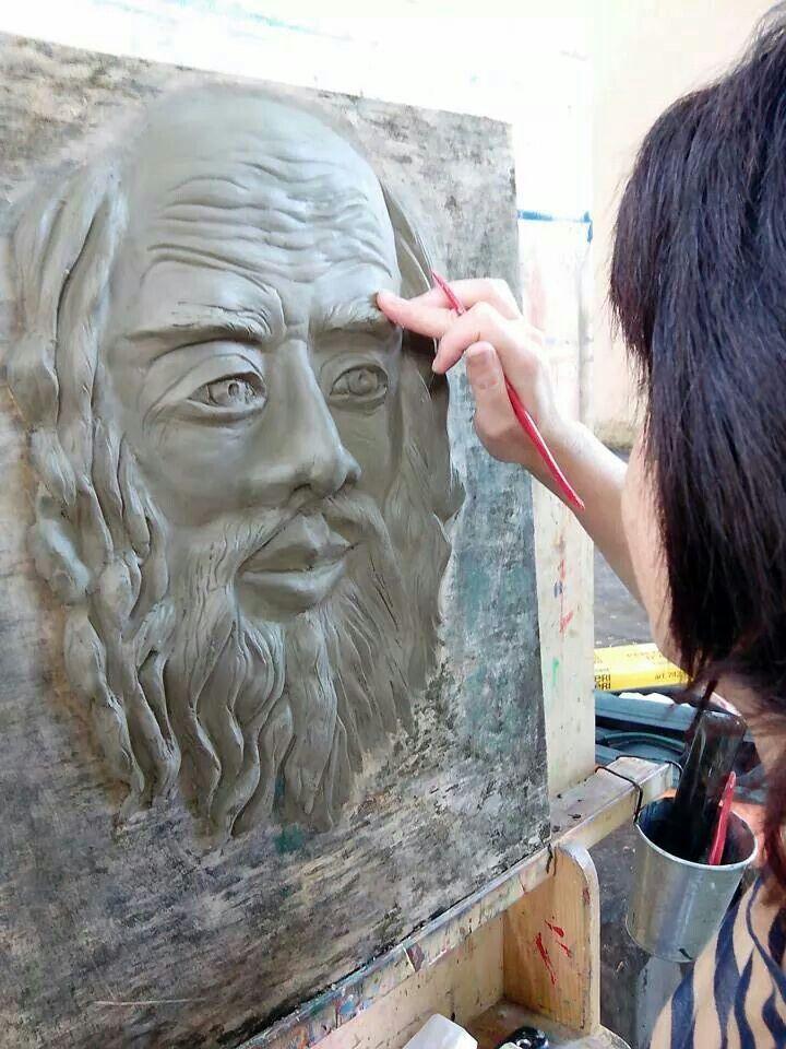 Corso di scultura da Pierluigi