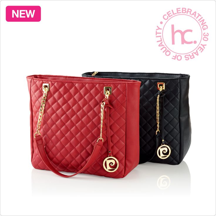 New Abby ladies handbag From R349 cash or only R44 a month! Available in black and red  Save R100 when you buy the Abby ladies quilted tote handbag and purse together! Shop now >> http://www.homechoice.co.za/Fashion/Handbags/Abby.aspx