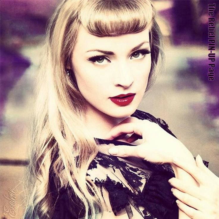 ... Betty Bangs, Hair Style, Rockabilly Hair, Betty Pages Bangs, Hair