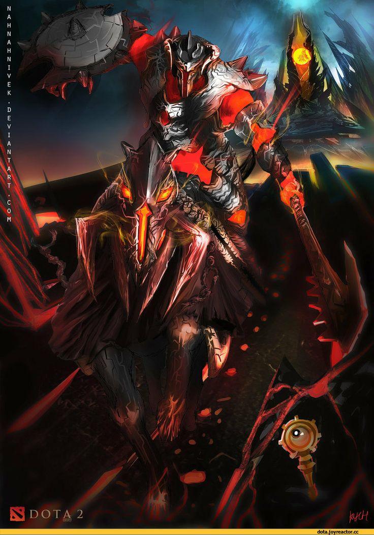 #Dota2 Dota,фэндомы,Dota Art,Nessaj the Chaos Knight,песочница
