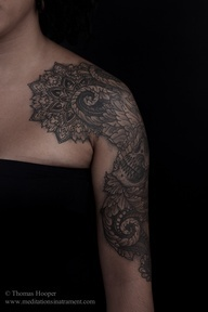 paisley tattoo - placement