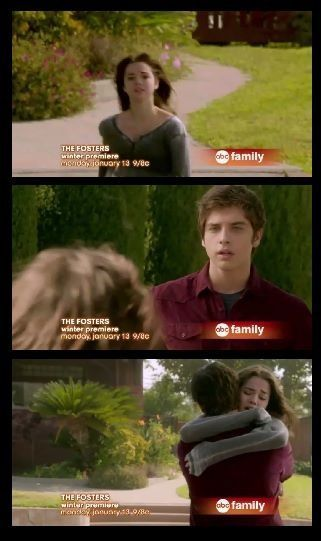 brandon and callie the fosters collage from the home and house episode