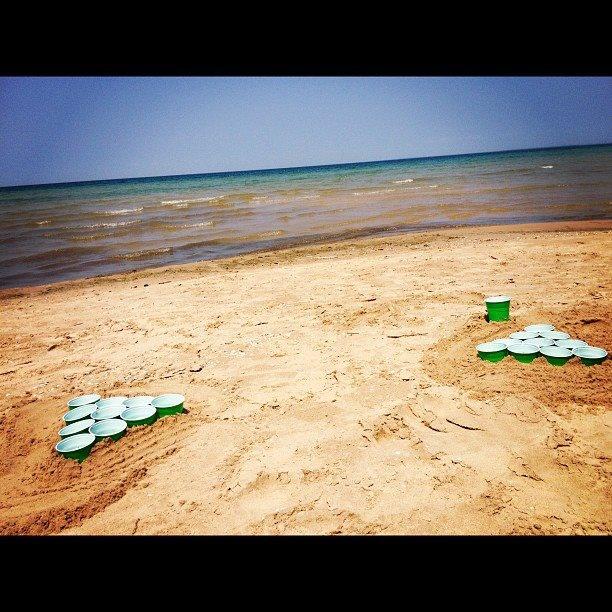 Beach Beer Pong