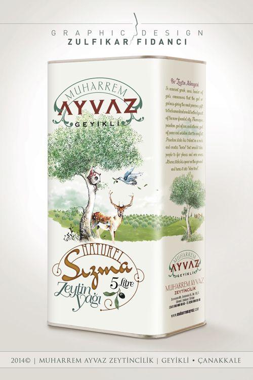 Geyikli Olive Oil Packaging Design by byZED on DeviantArt