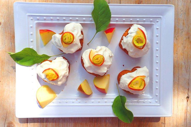 mrkvovo-jablkove muffiny bez cukru s medom