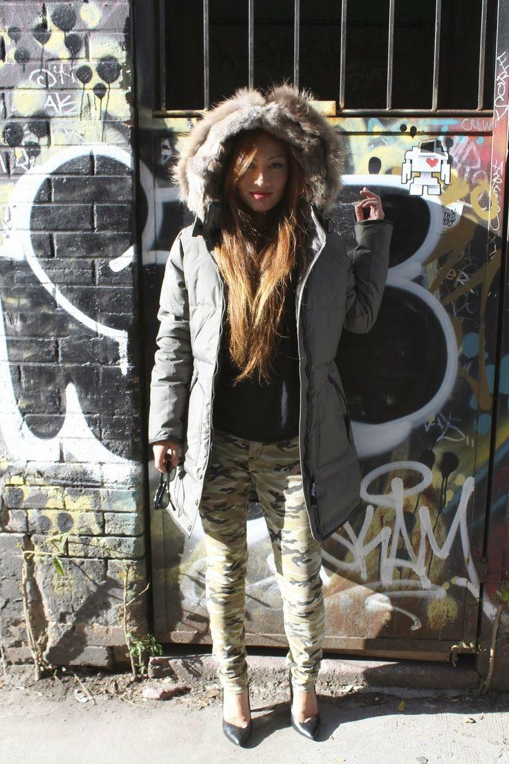 Ladies Pajar Jacket, Rich and Skinny Jeans