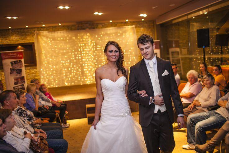 II. Soproni Esküvő Kiállítás - Hotel Fagus Sopron, a modellek kollégáink a Hotel Fagusban.