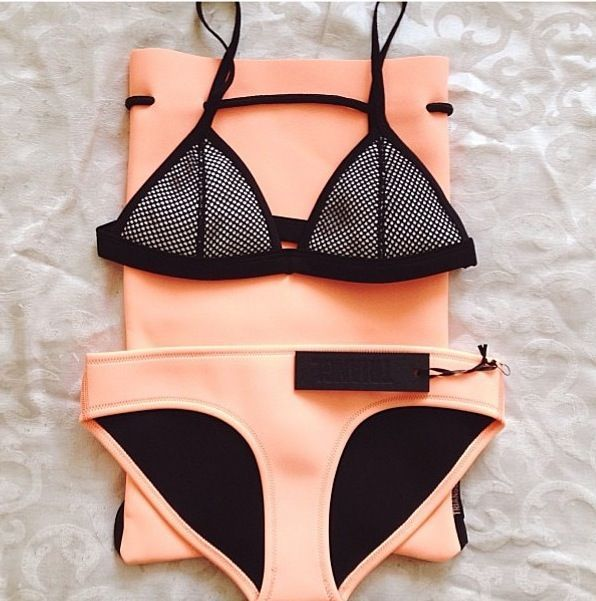 Cute Orange Bikini