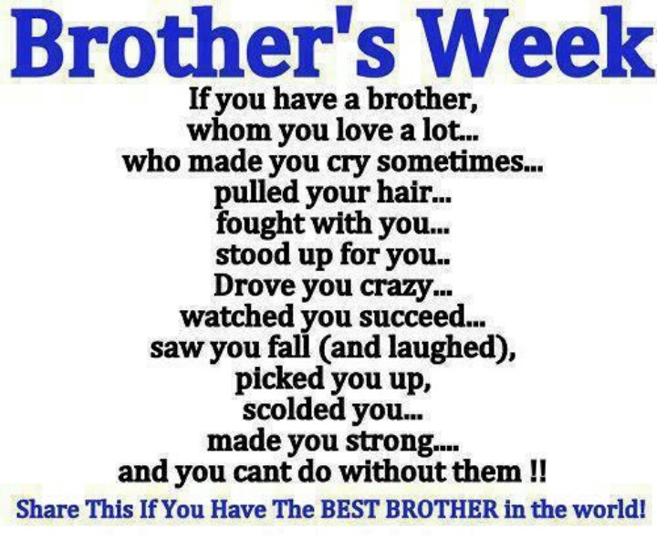 Brother Love Miss Quote Jerusalem House