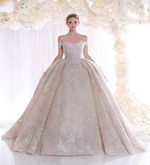 Jeanne Love Royal Sweetheart A Line Wedding Dresses 2019: Get Ready To Fall In Love: The New Zaid Nakad's Romantic