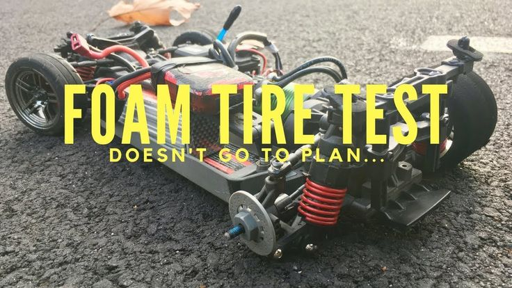 Drifotmaniacs - Traxxas 4-Tec 2.0 VXL Foam Tire Test Doesn't Go To Plan!