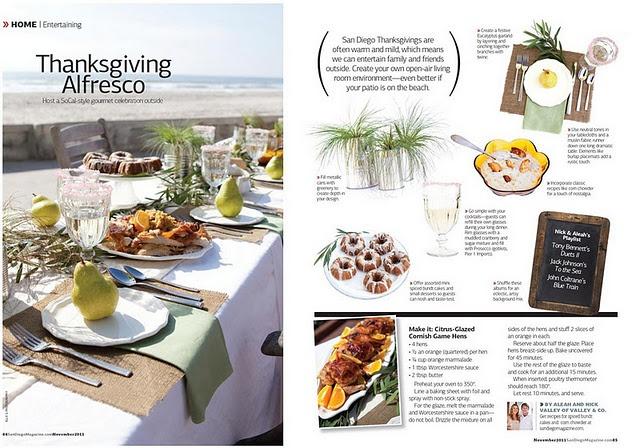 Fall Recipe: Orange Glazed Cornish Game Hens | Valley & Co. Lifestyle | San Diego Magazine