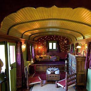 Zirkuswagen...davon träume ich   Mein Stil   Gypsy caravan ...
