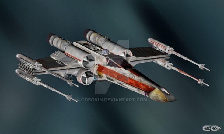 13 Star Wars - XWing by cosovin.deviantart.com on @DeviantArt