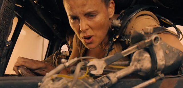 Charlize Theron Mad Max Fury Road #charlizetheron
