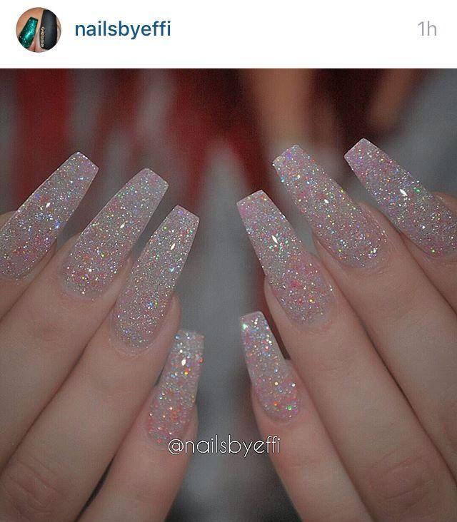Best 25+ Crystal nails ideas on Pinterest   Nail crystal ...