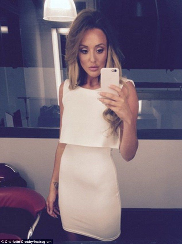 Geordie Shore's shrinking Charlotte Crosby is pretty in pink #dailymail