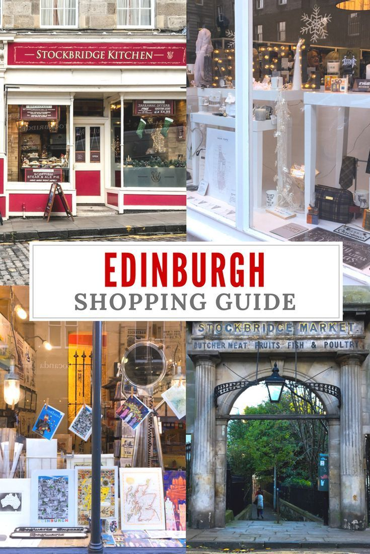 An Ediburgh shopping guide for all the shopping lovers. Our favourite Edinburgh shops& the best neighborhoods to find the coolest items. Edinurgh, Scotland | Edinburgh Travel Guide | Ediburgh travel tips
