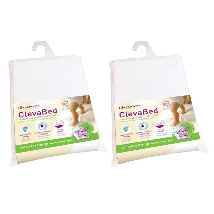 Clevabed Brushed Cotton Waterproof Ed Mattress Protector