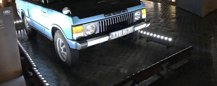 Oplevelsen af luksus Range Rover Velar