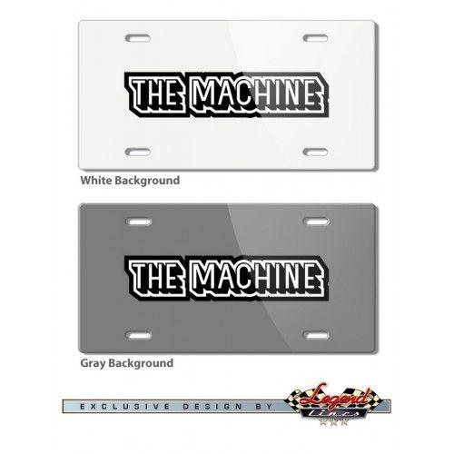 AMC Rebel The Machine 1970 Vintage Logo Novelty License Plate