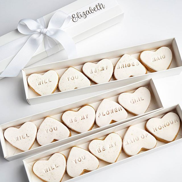 Will you be my Bridesmaid? Buy our Cookie Proposal Box: https://lerose.com.au/products/cookie-proposal-box #bridesmaids #willyoubemybridesmaid #cookies #cookieproposal #lerose #cute #bridalparty @lerose_online