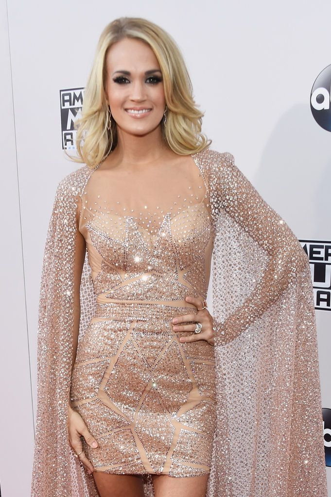 Carrie Underwood at the American Music Awards 2015 | POPSUGAR Celebrity