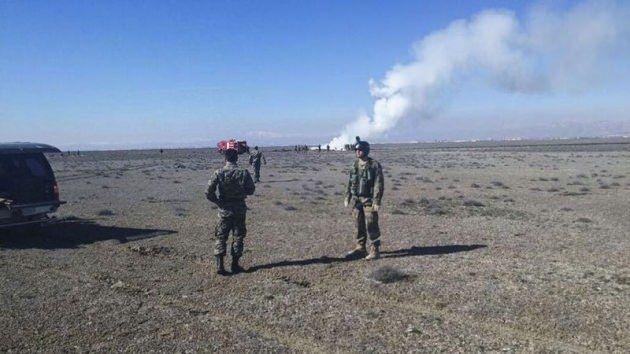Konya'da askeri uçak düştü 2 Pilot Şehit