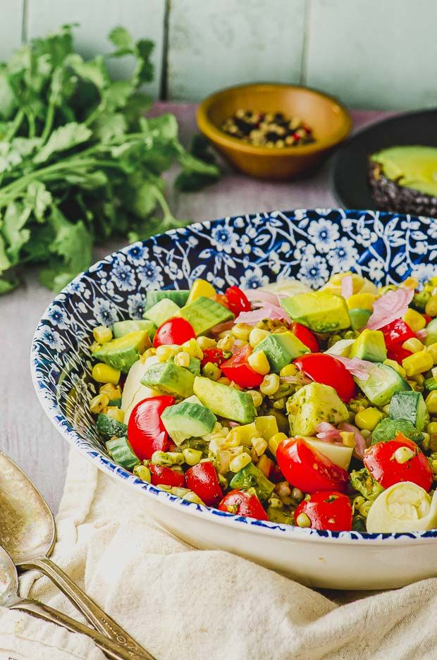 Corn Salad Recipe Parve