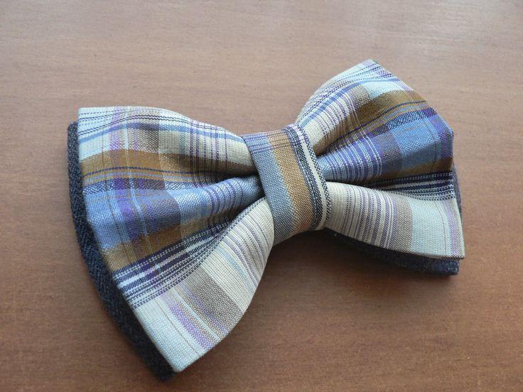 Мужской галстук-бабочка. Двух-цветный.Тело бабочки готово.
