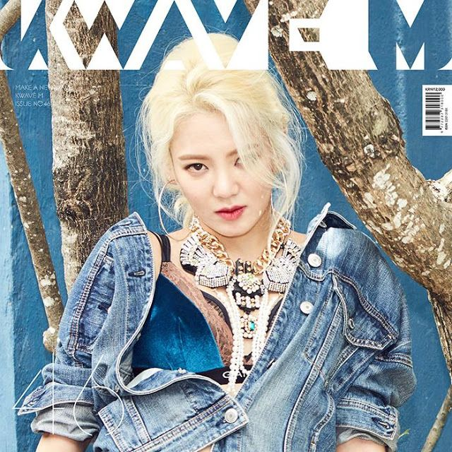 SNSD HyoYeon for K Wave's December issue ~ Wonderful Generation ~ All About SNSD, Wonder Girls, and f(x)