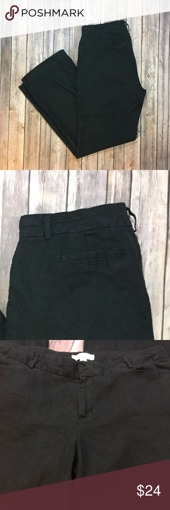 "⬇️$24⬇️ Michael Kors ladies dress pants black Michael Kors ladies trousers. Excellent used condition. No flaws, but care tag has been cut off. Material is either cotton or linen, very soft and lightweight. Perfect dress pants for mild to warm weather.  Measurements: waist: 18.5"" when laid flat; inseam 31.5"" ; rise 10.5""; thigh 12""; width of leg opening at bottom 10.5""  Bundle & save!  Reasonable offers accepted. I ship the same or next day! No trades/off app sales From a smoke free home…"