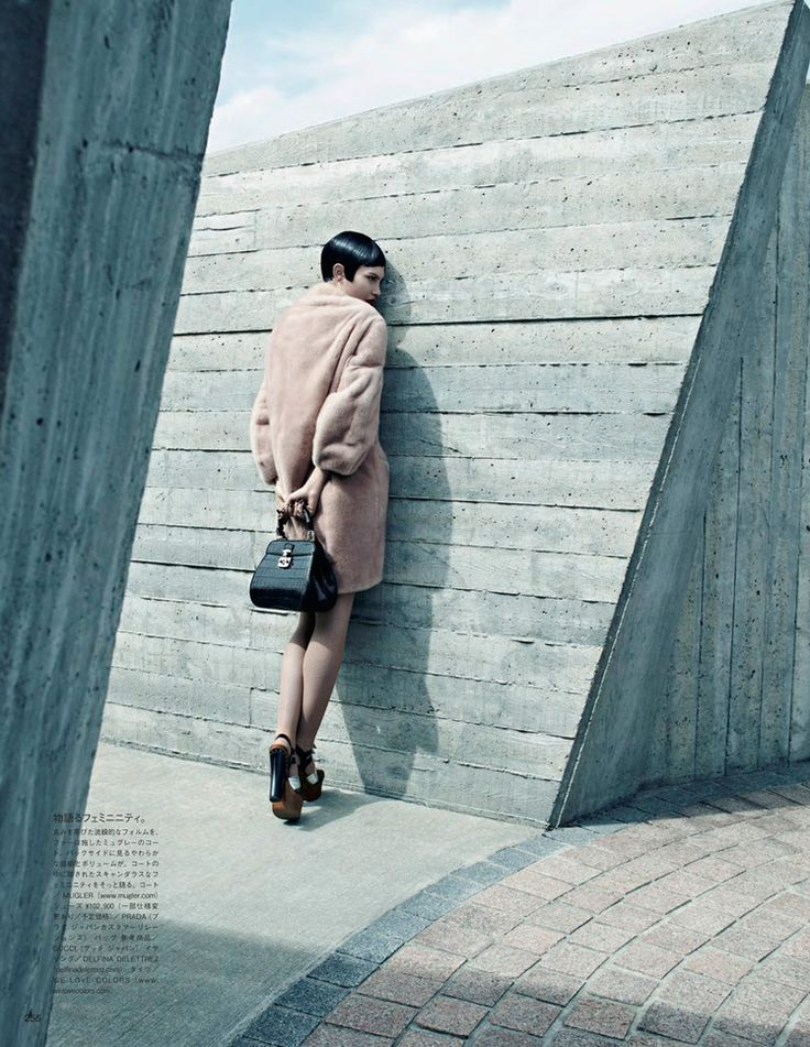 emma summerton8 Catherine McNeil Gets Luxe for Vogue Japan Shoot by Emma Summerton