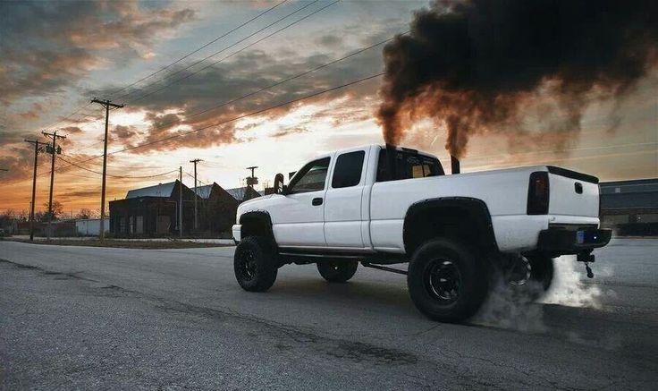 Smoke stacks!!!(: | Jacked up trucks!!!(: | Pinterest | Smoke